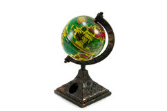 Globe simulation. The simulated globe is a good home decoration Stock Images