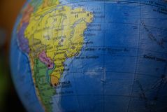 Globe South America Royalty Free Stock Photo