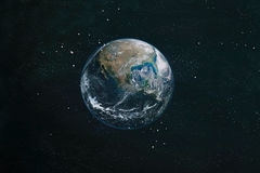 The Earth from space. This image elements furnished by NASA. royalty free stock photography