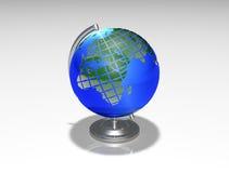 Globe sphere tellurion. Image of the terrestrial globe Stock Photography