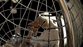 Globe sphere tellurion stock video footage