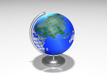 Globe sphere tellurion Royalty Free Stock Photos