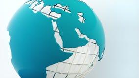 globe spin Bezszwowa pętla royalty ilustracja