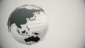 globe spin Bezszwowa pętla ilustracja wektor