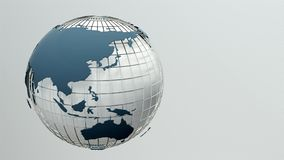 globe spin Bezszwowa pętla ilustracji
