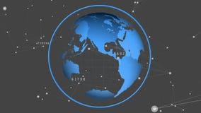 globe spin ilustracja wektor