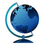 Globe on stand. Design done in adobe Stock Photo