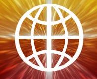 Globe symbol Stock Images
