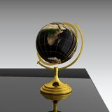 Globe on table Royalty Free Stock Photo