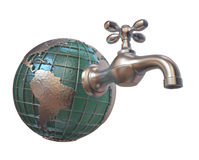 Globe Tap Stock Photography