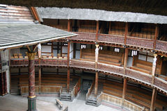 The Globe teater, London Arkivbild