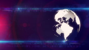 Globe technology background LOOP stock video footage