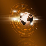 Globe Technology Interface Royalty Free Stock Photography