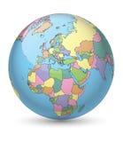 Globe teinté Photos libres de droits