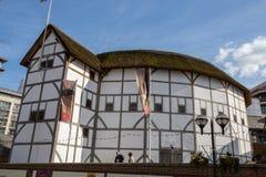 The Globe-Theater stock afbeelding