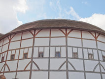 Globe Theatre, London. The ancient Shakespeare Globe Theatre in London, UK Royalty Free Stock Photography