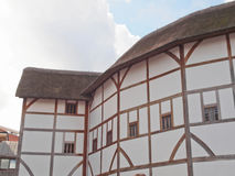 Globe Theatre, London. The ancient Shakespeare Globe Theatre in London, UK Stock Images