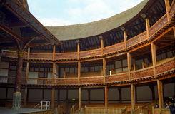 The Globe Theatre, London, England Royalty Free Stock Photo