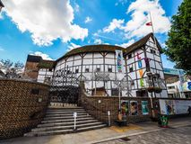 Globe Theatre in London, hdr. LONDON, UK - CIRCA JUNE 2017: The Shakespeare Globe Theatre, high dynamic range Stock Photos