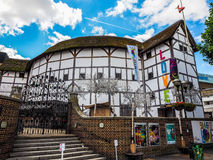 Globe Theatre in London (hdr). LONDON, UK - CIRCA JUNE 2017: The Shakespeare Globe Theatre (high dynamic range Stock Images