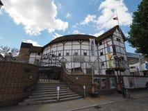 Globe Theatre in London. LONDON, UK - CIRCA JUNE 2017: The Shakespeare Globe Theatre Royalty Free Stock Photo