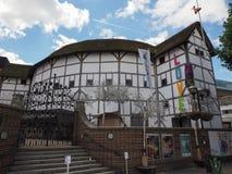 Globe Theatre in London. LONDON, UK - CIRCA JUNE 2017: The Shakespeare Globe Theatre Stock Photos