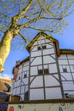 The Globe Theatre, London, UK stock photos