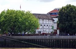 Globe Theatre, London. Royalty Free Stock Photos