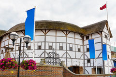 The Globe Theatre Londyn, Anglia Obraz Stock