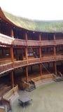 Globe Theatre. Shakespeare Globe Theatre, London, England Royalty Free Stock Photo