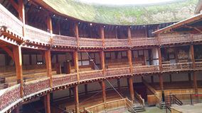 Globe Theatre. Shakespeare Globe Theatre, London, England Stock Photo