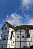 Globe Theatre on summer day Stock Photos