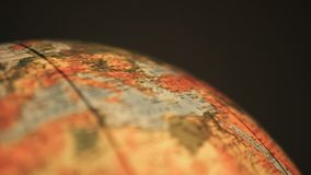 Globe tournant de la terre banque de vidéos
