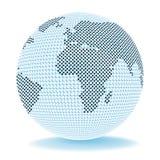 Globe Trade Shows Corporate Worldwide y Company Imágenes de archivo libres de regalías