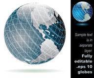 Globe tramerica Royalty Free Stock Photography