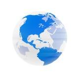 Globe transparent Image libre de droits