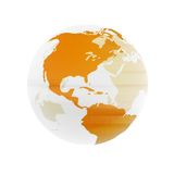 Globe transparent Photo stock