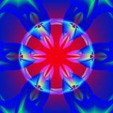 Globe transparent rougeoyant Photographie stock libre de droits