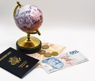 Ready to travel the world Royalty Free Stock Image