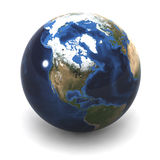 Globe USA Royalty Free Stock Photo