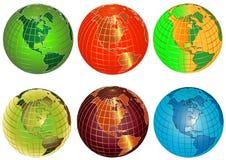Globe vector Royalty Free Stock Photo