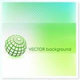 Globe on Vector Background Stock Photos
