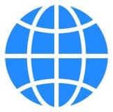 Vector Globe Icon royalty free illustration