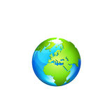 Globe. Vector Illustration Royalty Free Stock Photography