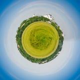 Globe vert Photos libres de droits
