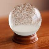 Globe vide de neige Photo stock