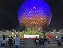 Globe, Walt Disney World, Orlando, Florida Royalty Free Stock Image