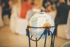 Globe for wedding celebration royalty free stock photos