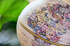 Globe West Africa Stock Photos