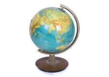 Globe. On a white background Stock Photos